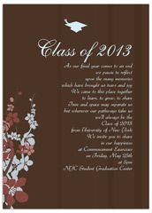 floral flower background printable graduation announcement 2013
