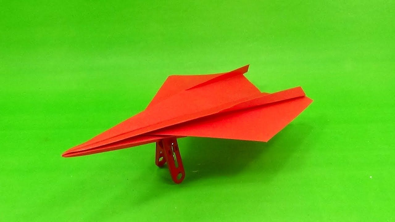 Super Fast Paper Airplane Easy Paper Origami Jet Plane