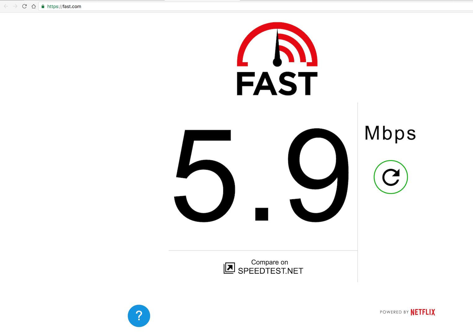 Check Your Internet Speed On Fast Com Check Internet Speed Internet Speed Netflix