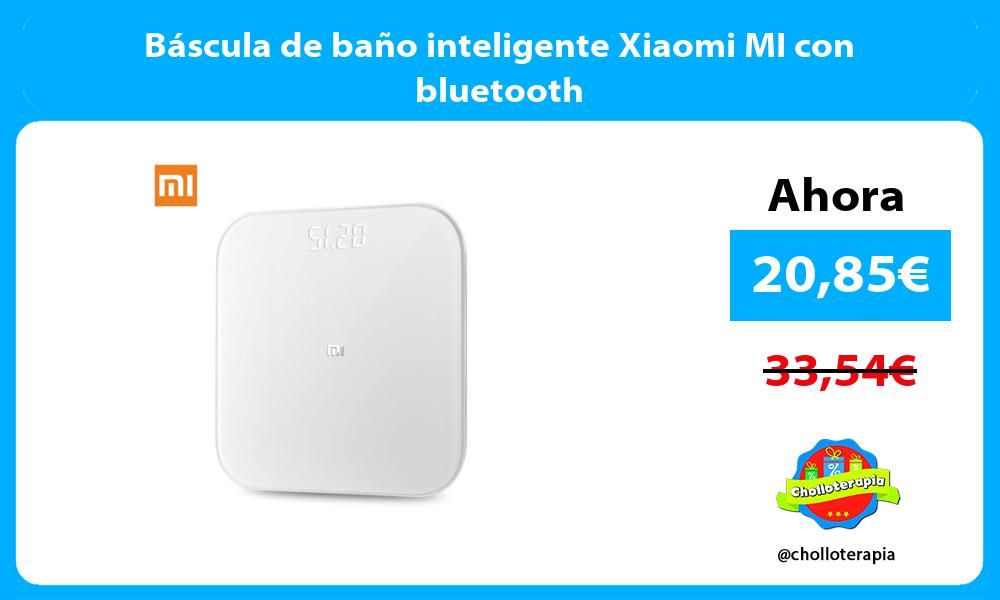Bascula De Bano Inteligente Xiaomi Mi Con Bluetooth Bluetooth