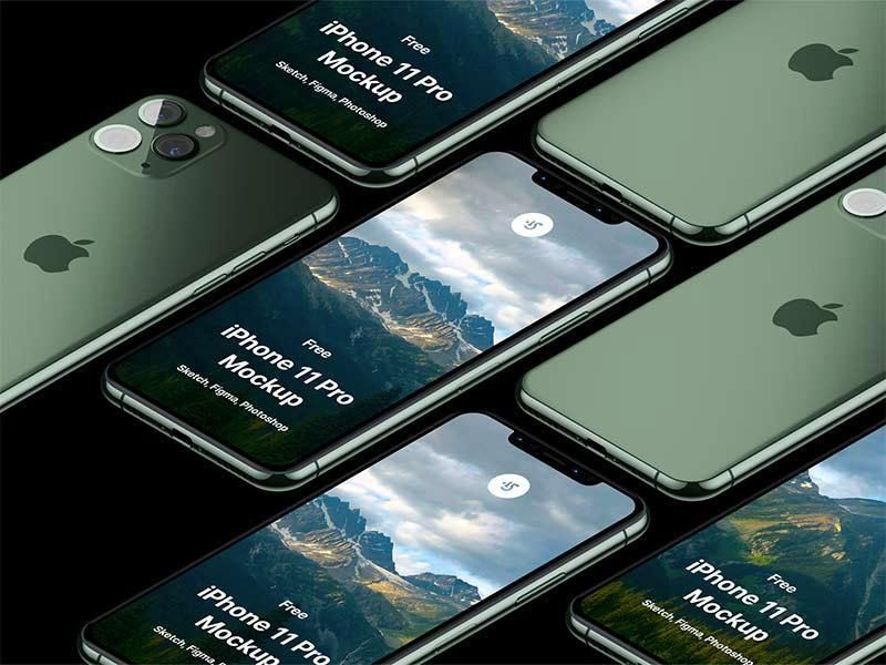 Download Iphone 11 Pro Mockup Free On Behance Iphone Mockup Free Iphone Iphone Mockup Psd
