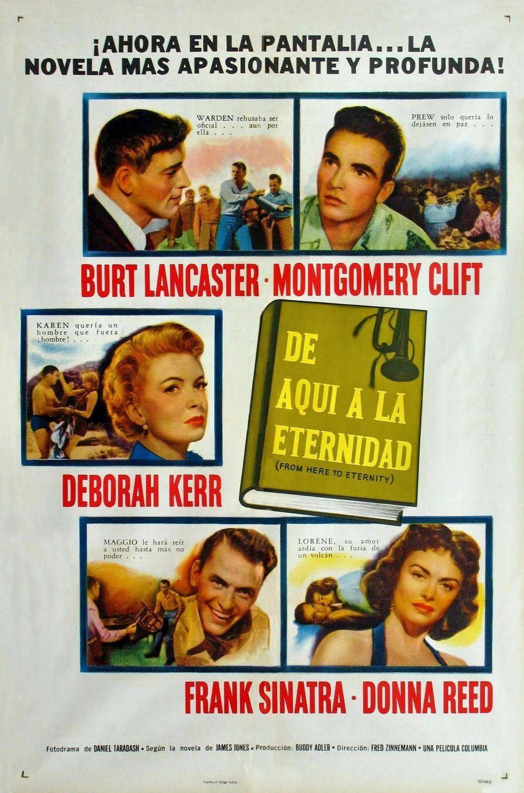 De Aquí A La Eternidad From Here To Eternity De Fred Zinnemann 1953 Películas Completas Frank Sinatra Eternidad