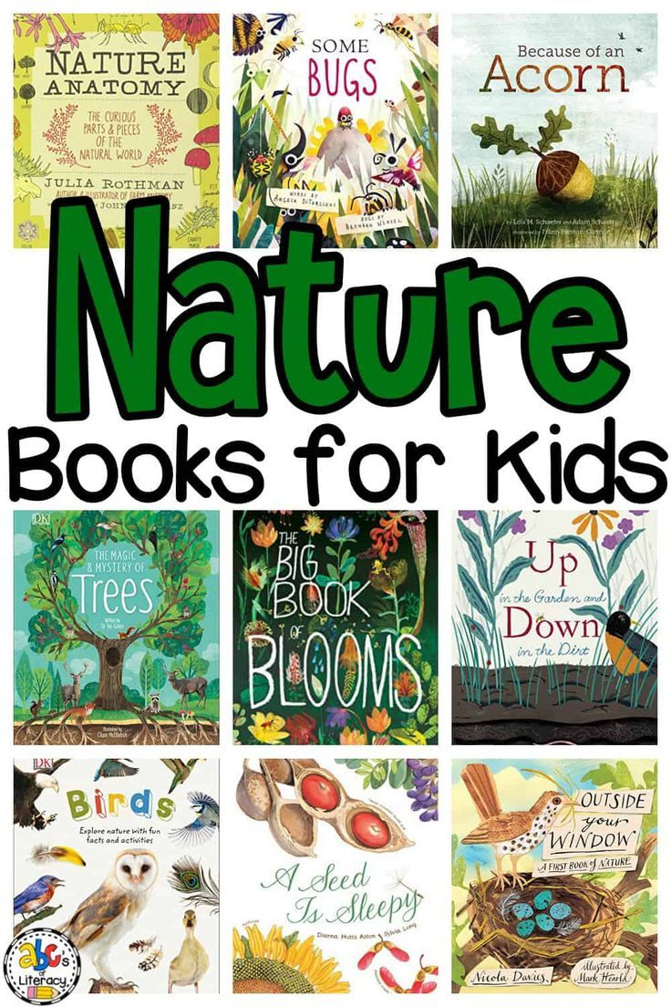 12++ Science and nature books for toddlers info
