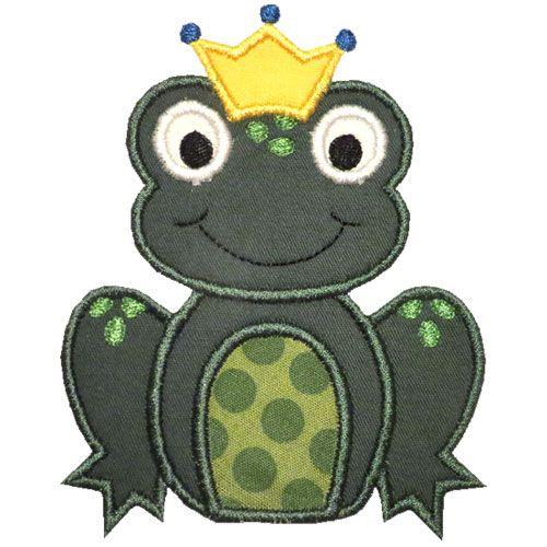 turkey applique pattern frog prince applique design dress up for ainsley pinterest. Black Bedroom Furniture Sets. Home Design Ideas