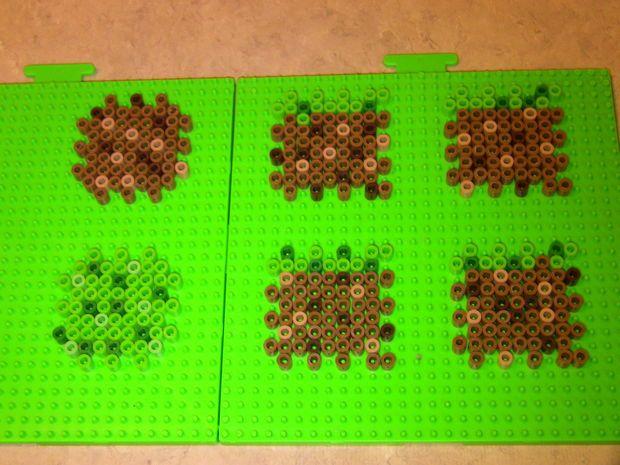 perler bead minecraft block other pictures of and perler beads perler bead minecraft block