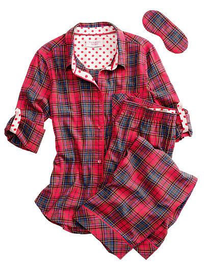 11bcb609f50f Victoria s Secret Dreamer Flannel Pajama in red plaid