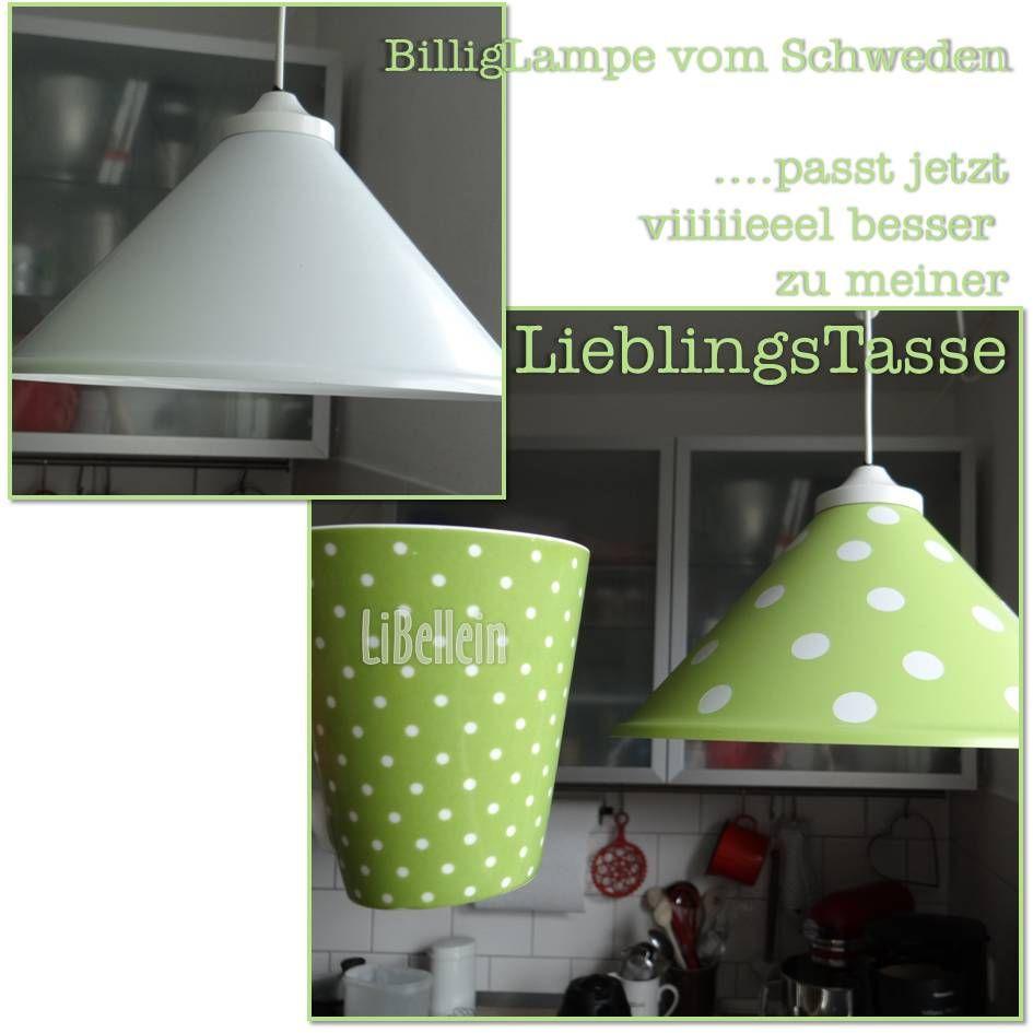 easy peasy....Lieblingslampe