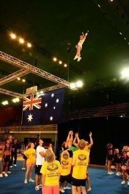 Flyer Shannon Payne At Brisbane Nationals 2008