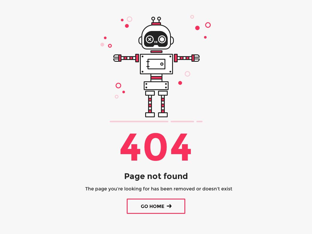404 Page Page Web Design Page Design