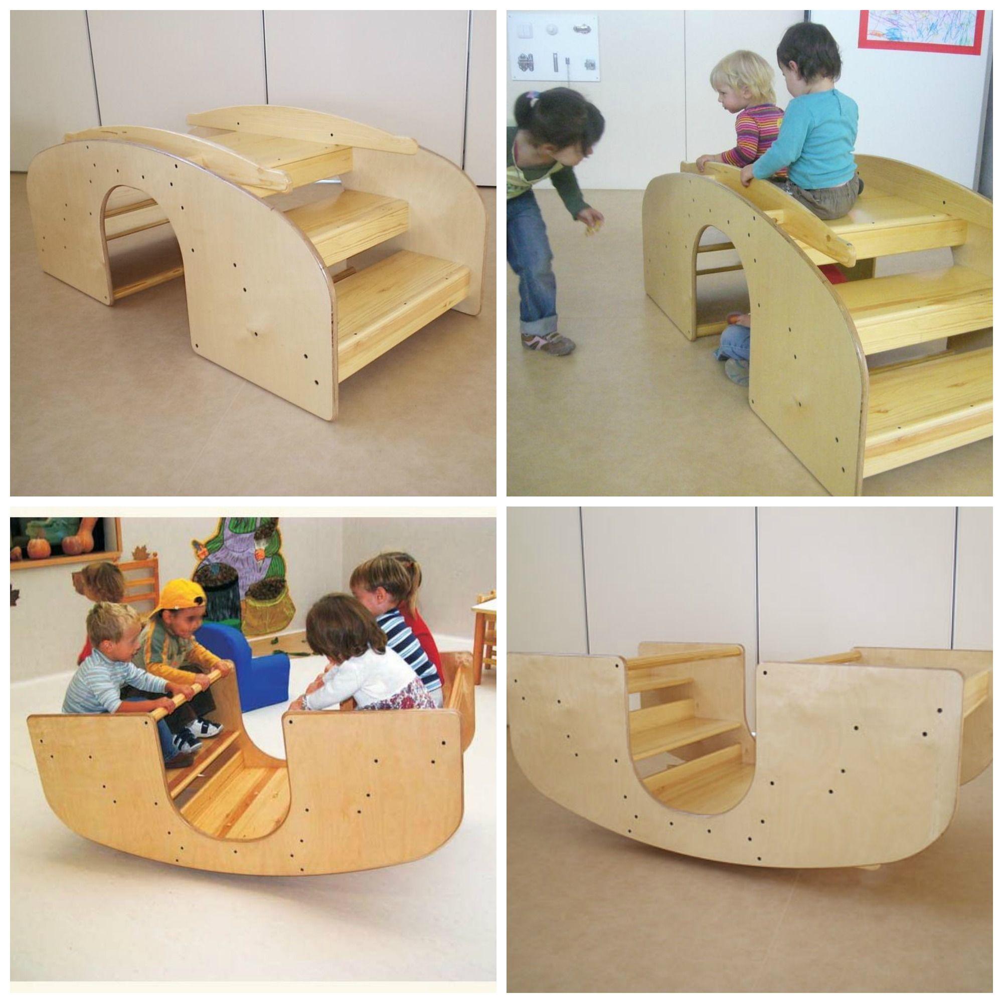 Escada de balanço Inspiração: abordagem Pikler www.ateliegiramundo ...