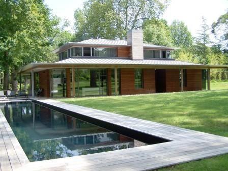 Maison Architecte Piscine  Recherche Google  Construction