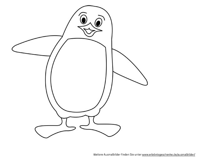 Ausmalbilder zum ausdrucken basteln - Pinguin basteln vorlage ...