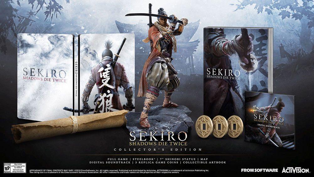 Sekiro Shadows Die Twice Collectors Edition Xbox One Exclusive Gamestop Pre Or The Collector Edition Shadow