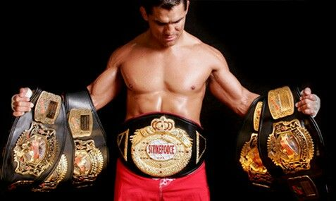 Frank Shamrock, the original champion of the UFC, WEC, and Strikeforce.