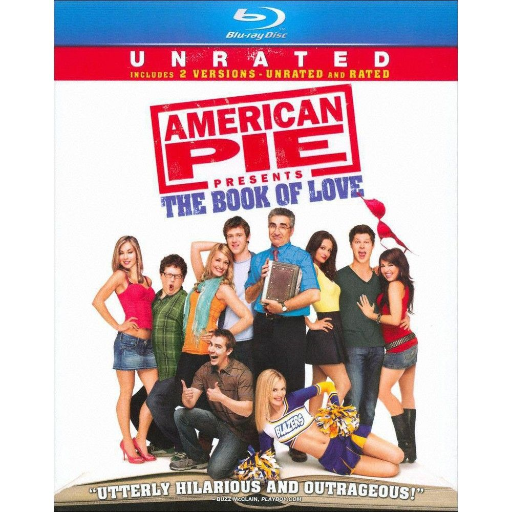 American Pie Presents The Book Of Love Rated Unrated Blu Ray