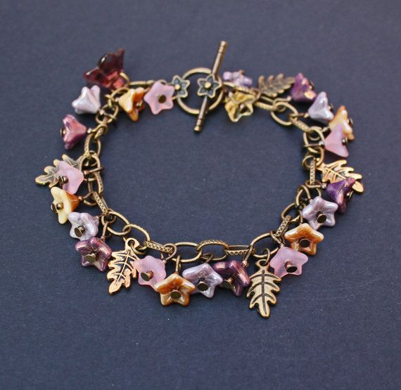 Beautiful+bracelet+with+antique+bronze+and+by+LazyDaisyCatJewelery,+£12.00