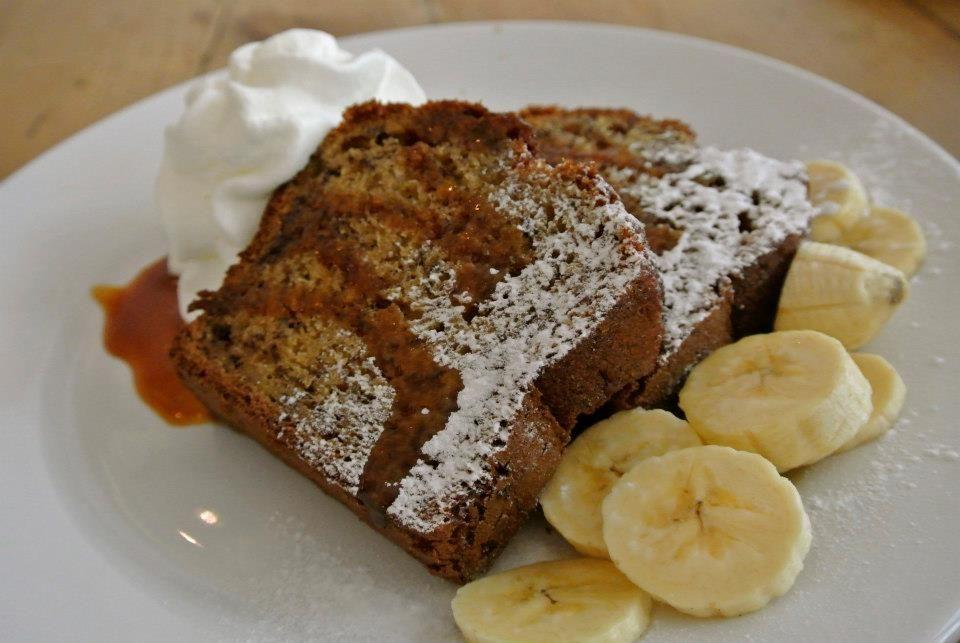 Banana Bread at Brunch and Cake