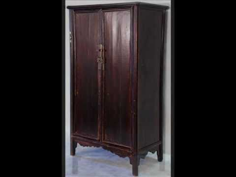 Elegant Crafted In The Early This Tall Ming Style Chinese Antique Armoire Cabinet  Is A Beauty, Both In Looks And In Design. It Is Crafted Of Chinese Cedar, N.