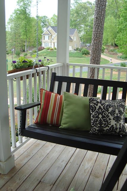 front porch swing i would love to have a swing one day on on porch swing ideas inspiration id=46144