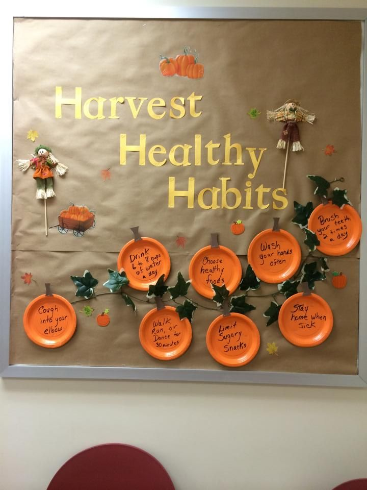 November Calendar Bulletin Board Ideas : My first bulletin board for the nurse s office