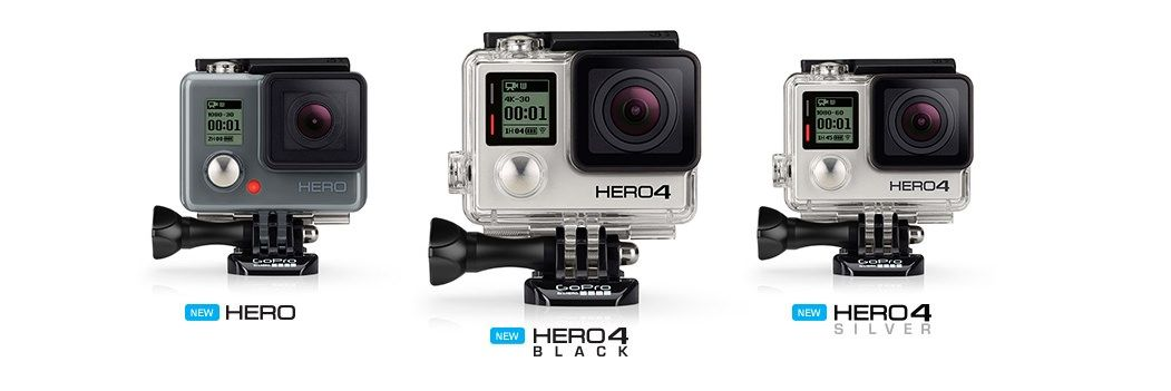 Best Memory Cards Gopro Hero4 Black Silver Updated Gopro Hd Gopro Camera Action Camera