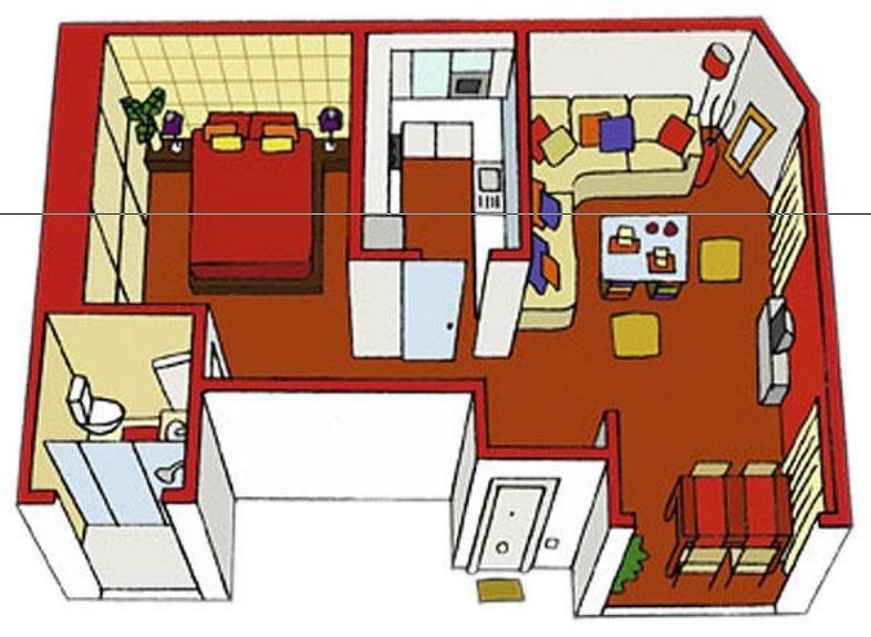 planos de casas vistas desde arriba