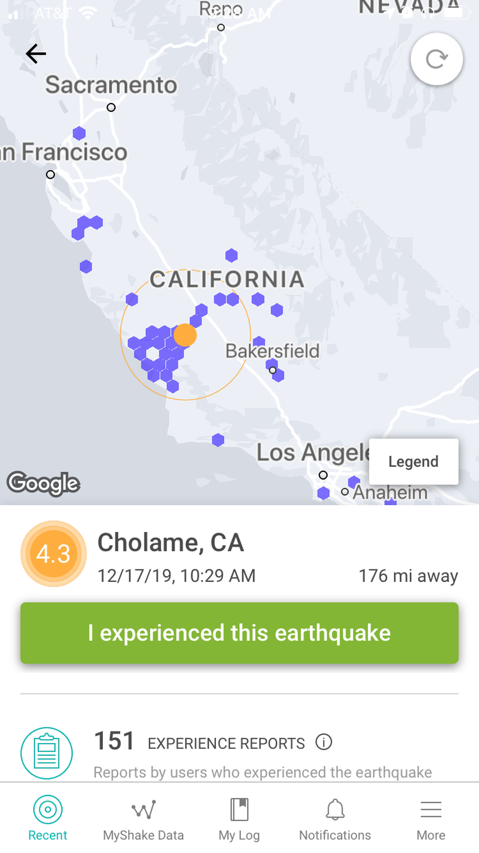 Earthquake triggers California's early warning app for the