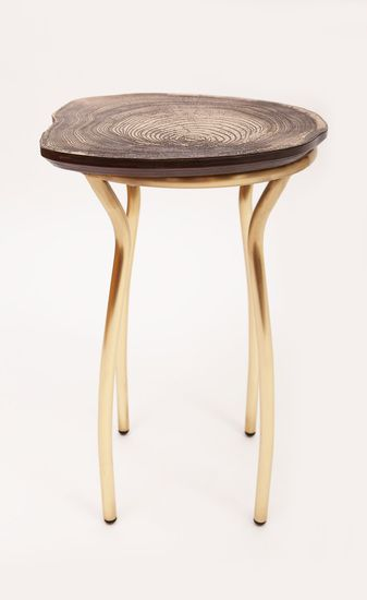 Stool Bedside Table: Really Digging Sharon Sides..Lean Stool