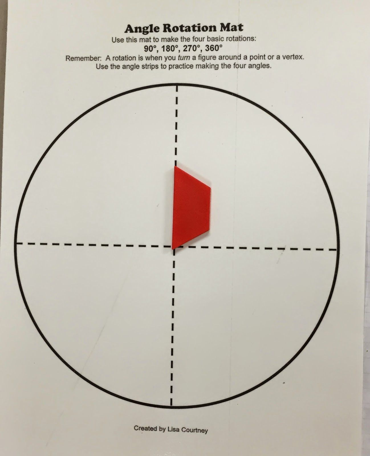 Rotational Turns Of Angles By Mrs C S Classroom