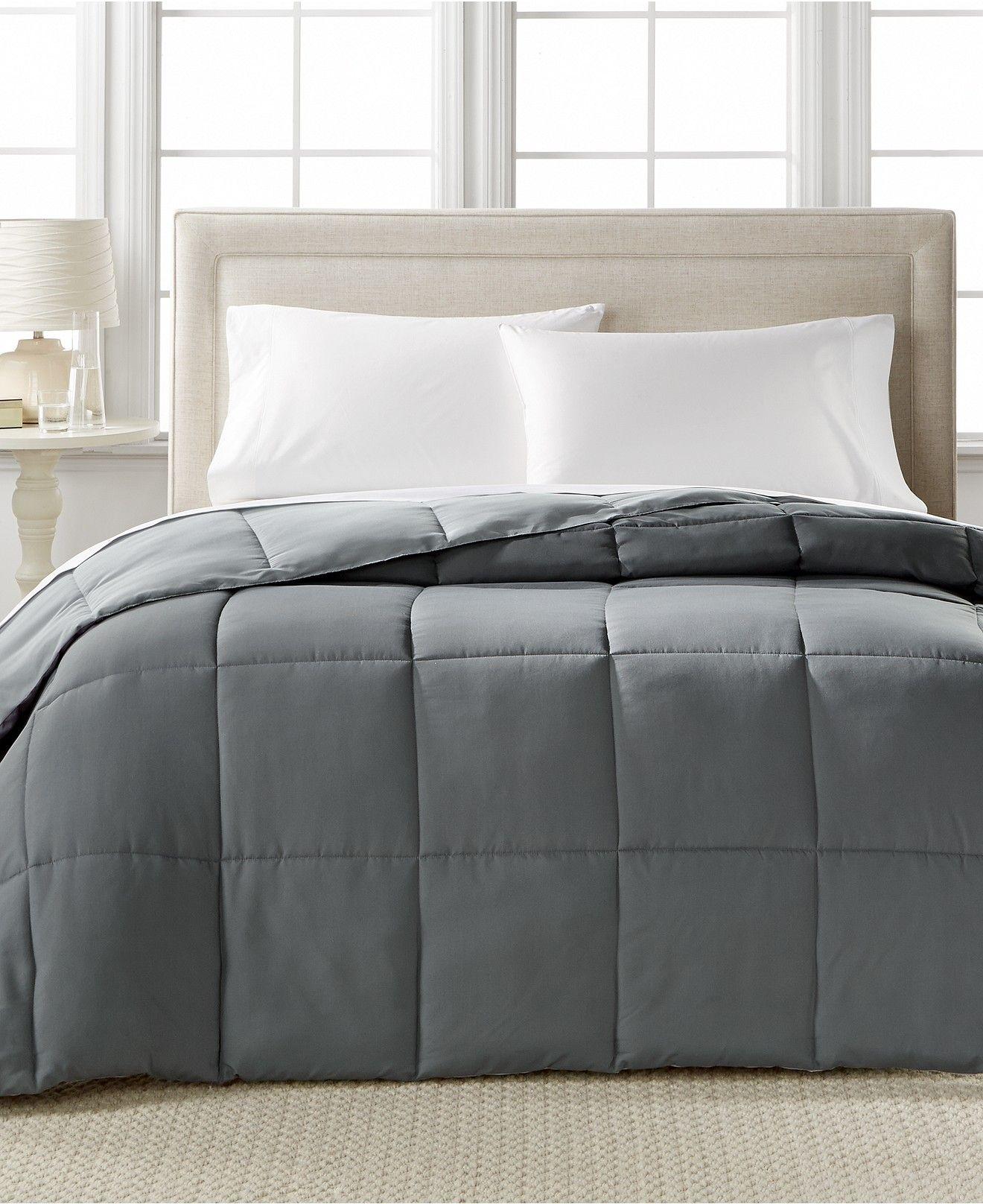 Home Design Down Alternative Color Comforters Hypoallergenic