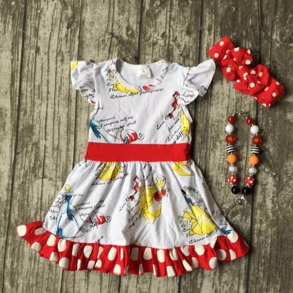 a94f47dc5e93 Princess Cotton Dress Set
