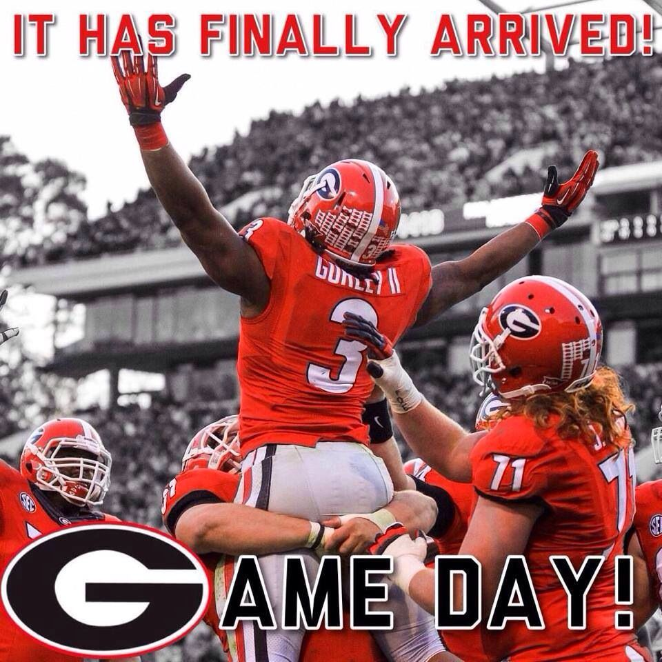 So Ready For The Georgia Florida Game Go Dawgs Georgia Bulldogs Game Georgia Bulldogs Football Georgia Football