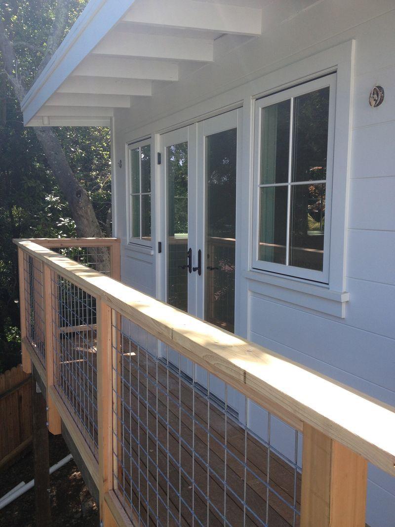 looooooooove these deck rails. perfect in every way ...