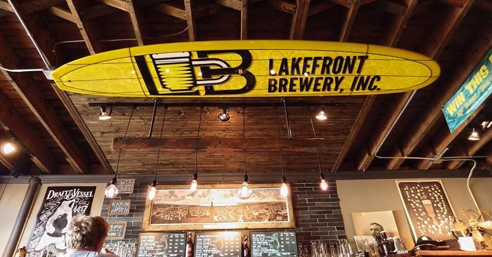 Lakefront Brewery Craft Beer And Local Breweries Pinterest Bar