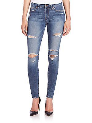 Joe's Seneka Distressed Icon Skinny Jeans - Seneka - Size 24 (0)
