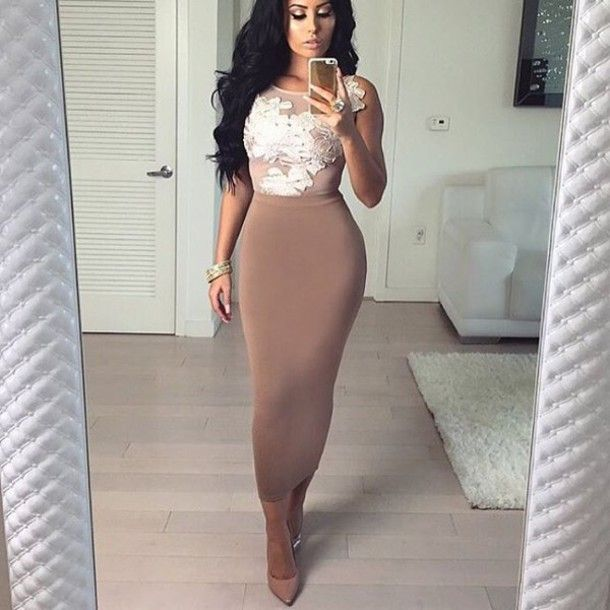 Skirt | Outfit office, Nude high heels and Kim kardashian
