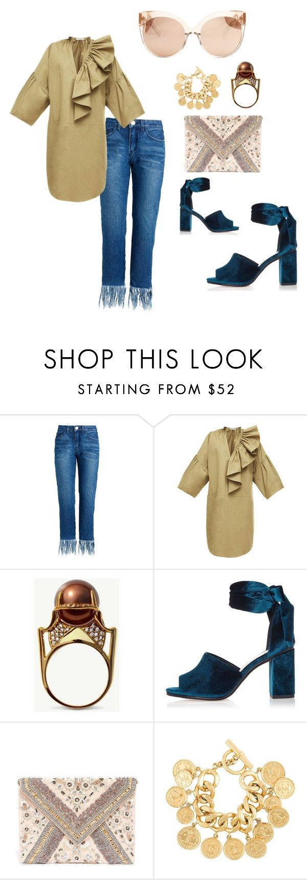 """""""Untitled #884"""" by steflsamour ❤ liked on Polyvore featuring Tome, River Island, LULUS, Chanel and Linda Farrow"""