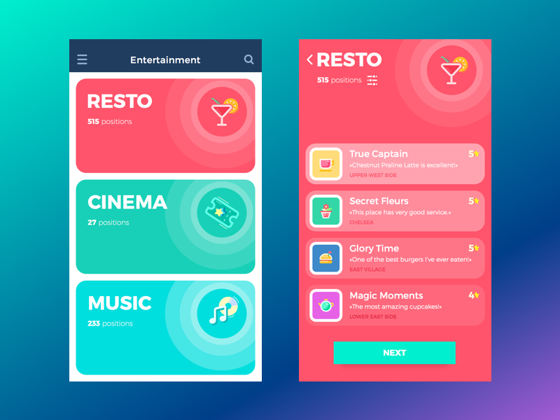 Entertainment App App App Design And Ui Ux