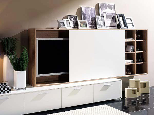 Mueble para esconder tv buscar con google deco - Muebles para el televisor ...