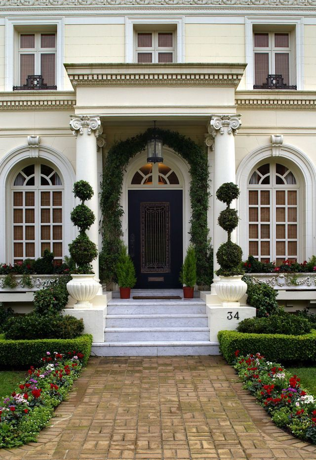 27 Pictures of Black Front Doors (Front Entry) | House, Doors and ...