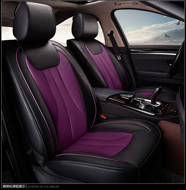 Blue Full Set Front /& Rear Car Seat Covers for Mitsubishi Lancer Evo All Years