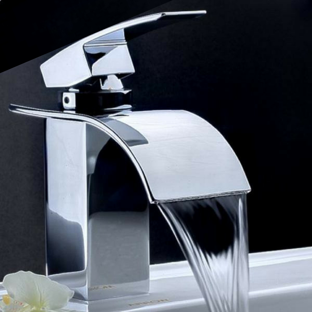 Waterfall Faucet Sink Tap | Sink taps, Waterfall faucet and Faucet