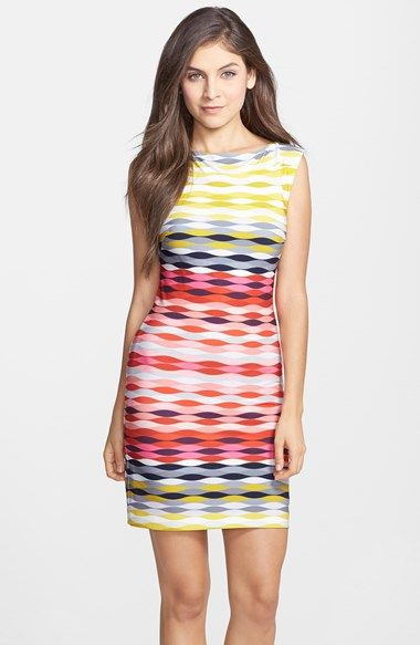 3baf1e0e91f Trina Turk  Felana  Print Jersey Sheath Dress available at  Nordstrom