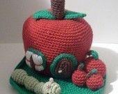 PDF Crochet Pattern - Mice Castle. Availble in English or Swedish.. $5.00, via Etsy.