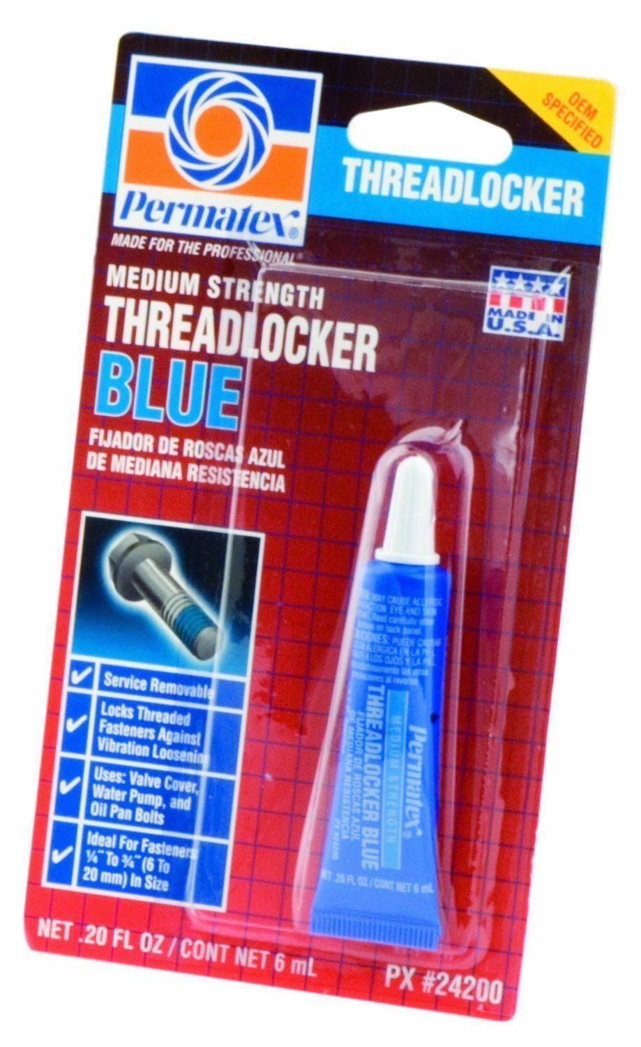 Cheap bathroom vanities under 24200 - Threadlocker Blue Permatex 24200