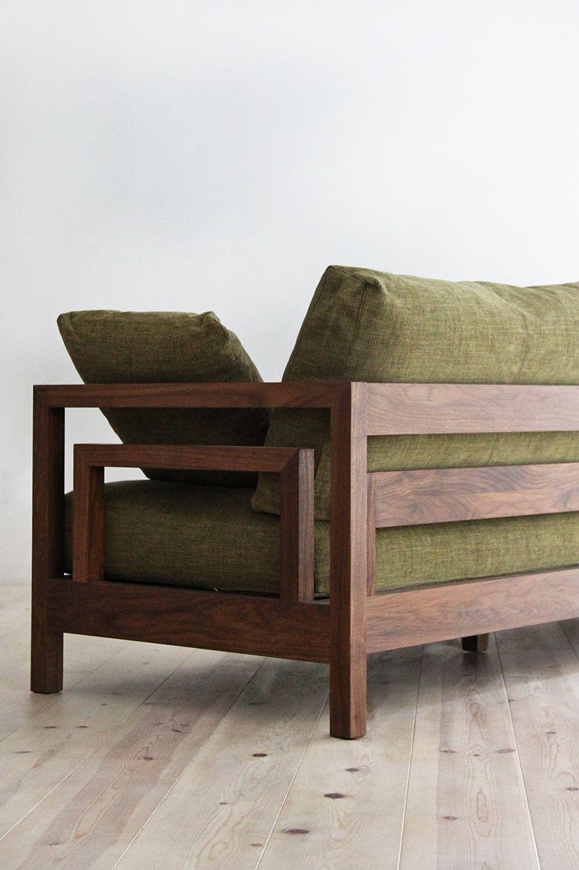 無垢ソファ セレーノ Sofa Reclinavel Wood Furniture Wooden Set