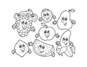 Cute Fruit Coloring Pages Sketch Template Fruit Coloring Pages