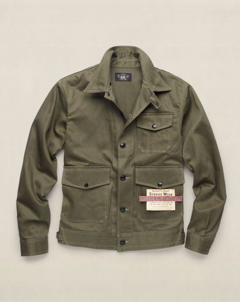 2152fe0803b2d ... Jackets for Men. Cobbs Cotton Mechanic Jacket - RRL Lightweight &  Quilted - RalphLauren.com