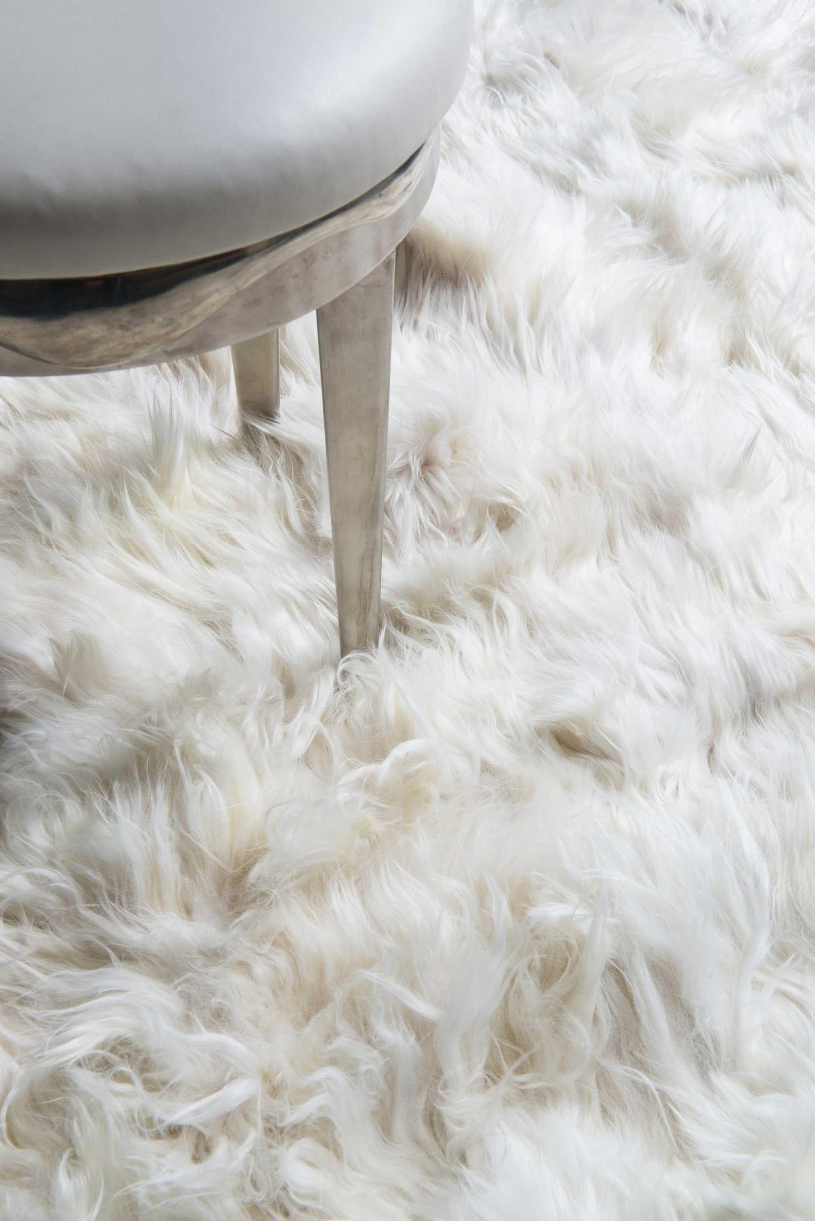 Alpaca Rug Furry Rugs