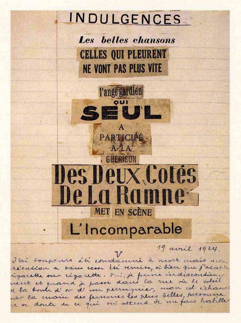 Lupitovi Poème Collage Dandré Breton Favoritos